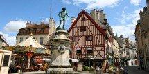 Dijon place fontaine