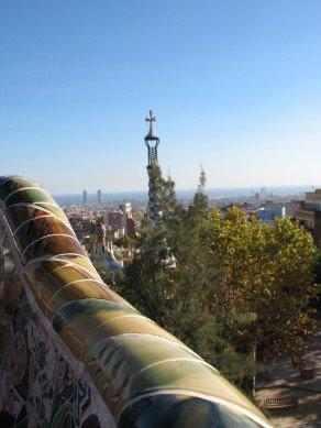 parc guell Gaudi - séminaire barcelone