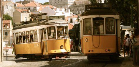Découverte Lisbonne en tramway