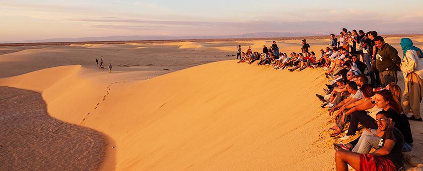 voyage professionnel désert