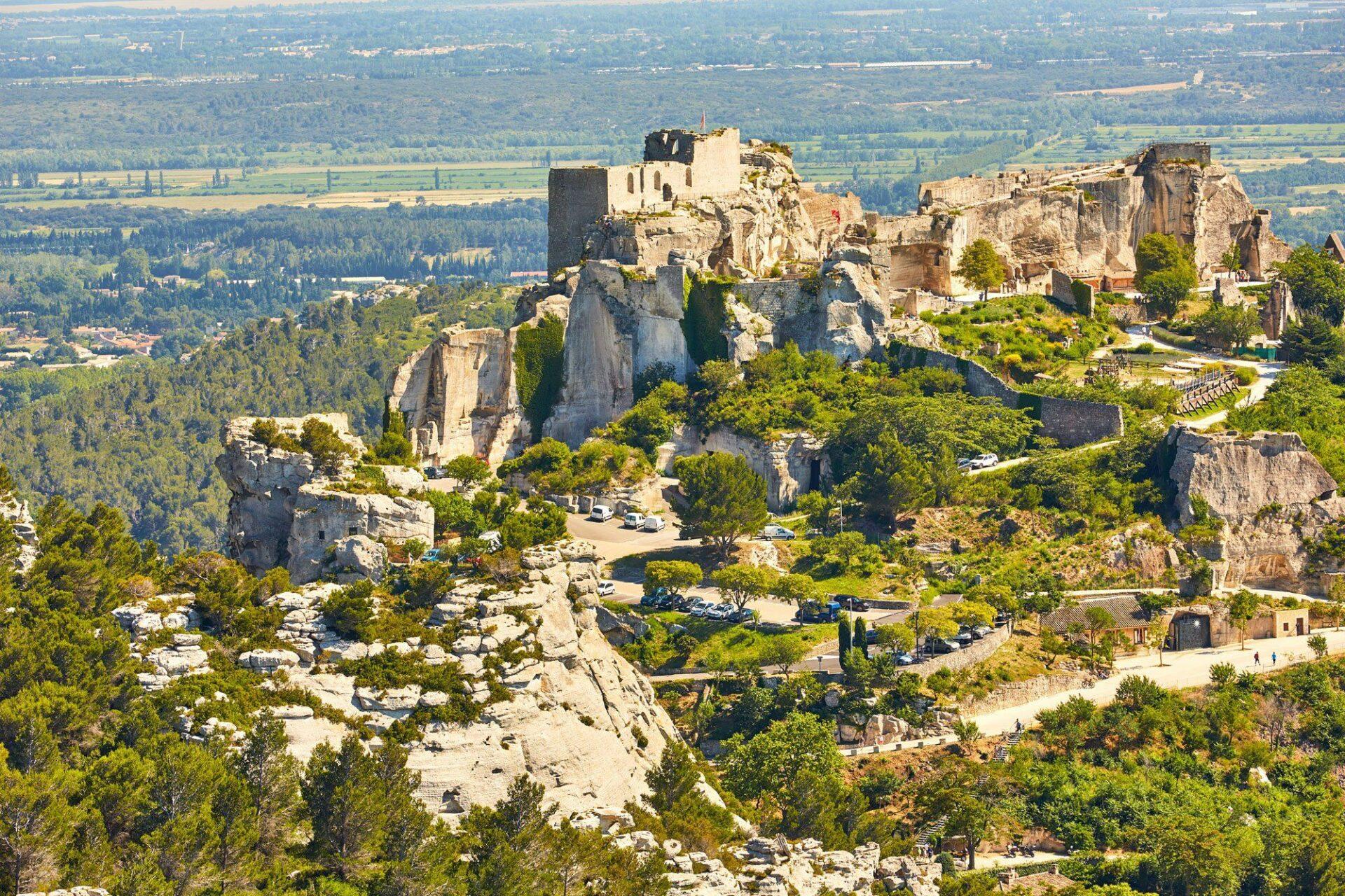 Les Baux-en-Provence, un village exceptionnel en pleine nature